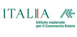 Logo Italia - Istituto Nazionale per il Commercio Estero